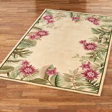 Floral Area Rug Tropical Floral Area Rug All About Rugs