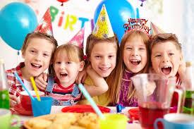 children celebrating birthday photo free