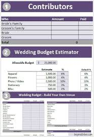 Wedding Planning Spreadsheet 38 Best Budget Wedding Images On Pinterest Budget Wedding