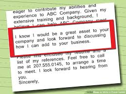 Should A Cover Letter Be On Resume Paper 5 Ways To Write A Cover Letter Wikihow