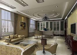 Chandelier For Living Room Gorgeous Ceiling Design For Glamour Living Room Webbo Media