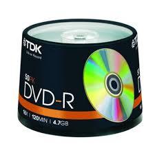 buy tdk dvd 8x 4 7gb blank media discs cake spindle 50 pack