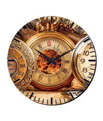 wall watch mesleep watch design wall clock with glass top buy mesleep watch
