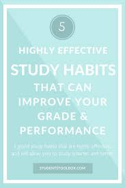 best 10 good study habits ideas on pinterest study habits