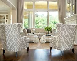 Upholstery Ideas For Chairs Astonishing Design Patterned Living Room Chairs Nob Ideas 38821