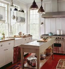 Cottage Kitchen Lighting Rustic Cottage Design For A Truly Comfortable Kitchen