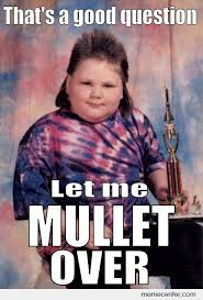 Funny Kid Meme - mullet kid by ben meme center