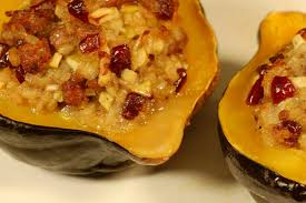 thanksgiving side dish stuffed acorn squash csmonitor