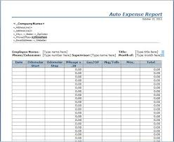 gas mileage expense report template gas mileage tracking fourthwall co
