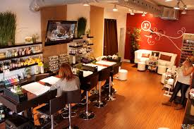 Manicure Bar Table The Manicure Bar And Pedicure Lounge At Rouge Nail Bar Sal U2026 Flickr