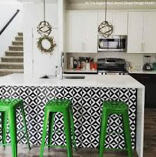 kitchen stencil ideas 12 stunning ideas for stenciling a diy kitchen backsplash design