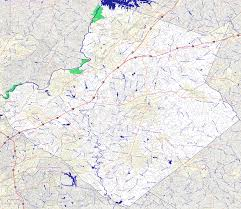 Georgia Counties Map Bridgehunter Com Gwinnett County Georgia