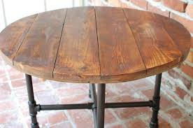 round industrial side table round industrial coffee table foter studio decor pinterest