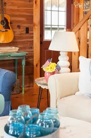 patriotic living room decor ideas creative cain cabin