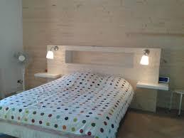 chambre tete de lit chambre fabriquer sa tete de lit sikel idee peinture chambre avec