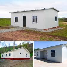 Prefab House Sandwich Panel Cheap Prefab House For Construction Site In Uruguay