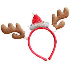 deer headband reindeer antlers deer horn headband christmas party costume hair