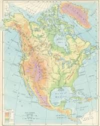 Physical Map Of North America by The Distributed Proofeaders Canada Ebook Of An Historical Atlas Of