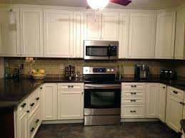 ikea tile backsplash interior modern black and white kitchen tile