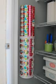 ways to store wrapping paper 25 organization ideas for the home wrapping paper storage