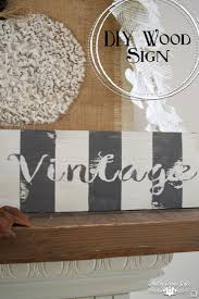 diy wood signs country design style