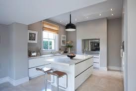 georgian home kitchen design handle less drawers