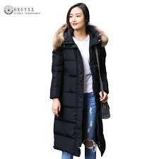 Plus Size Down Coats Online Get Cheap Long Puffer Coat Aliexpress Com Alibaba Group