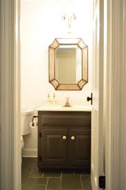 Painted Vanities Bathrooms Painting Our Bathroom Vanity Twice To Get It Right Young House