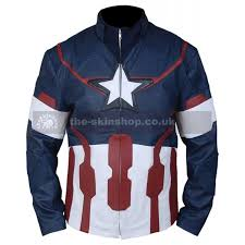 ultron costume america chris steve rogers age of ultron costume leather jacket