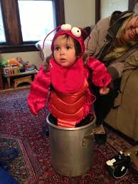 Lobster Costume This Halloween Look For This Bulldozer And High Five Her