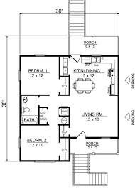 beach style house plan 2 beds 1 00 baths 856 sq ft plan 14 240