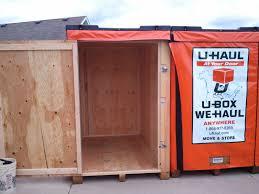 Uhaul Estimated Cost by The Portable Storage Review U Haul U Box Dimensions