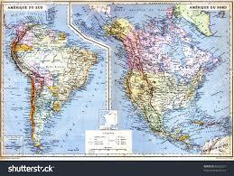 Galapagos Map Map South America Galapagos Islands Old Stock Photo 86652337