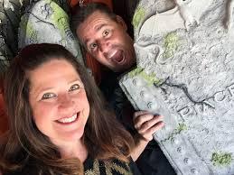 how to make halloween tombstones cathie filian u0026 steve piacenza