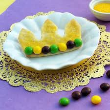 mardi gras crowns princess and the frog cookies recipes family disney