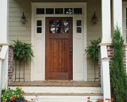 Stain Exterior Door Homes With Stained Front Door Front Door Wood Stained To Match