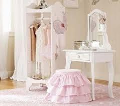 Childrens Vanity Tables Girls Wooden Vanity Set Foter