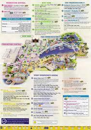 Universal Studios Orlando Park Map by Universal Studios Florida Park Maps Informations Photos
