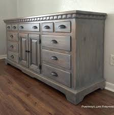 used bedroom dressers bedroom dressers for this finished i used rust weathered gray stain