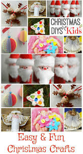 easy christmas crafts for kids crafts fun and kid