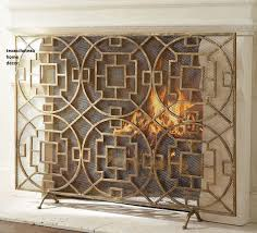 midcentury fireplace screen google search mid century
