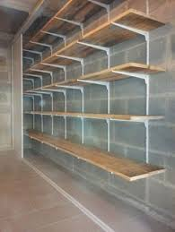 Basement Storage Shelves Woodworking Plans by Ana White Build A Easy And Fast Diy Garage Or Basement Shelving