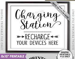 Recharge Station Charging Station Etsy