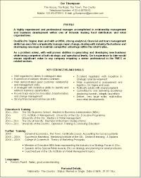 Sample Of Key Skills In Resume by How To Write Your Cv Showcasing Your Skills In Your Cv
