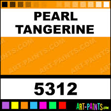 pearl tangerine professional airbrush spray paints 5312 pearl