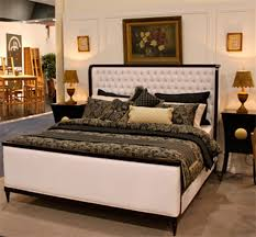 Leather Upholstered Bed Upholstered Bed Heads Leather Upholstered Bed With Timber Frame