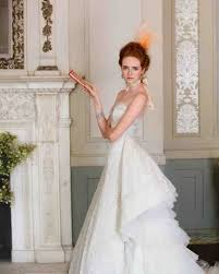 classic wedding dresses classic wedding dress cuts by decade martha stewart weddings