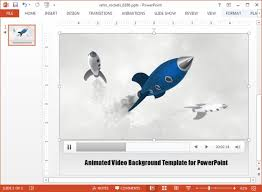 animated rocket powerpoint templates