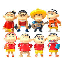 2017 crayon shin chan miniature figurines toys doll model