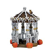 Lemax Halloween Houses by Halloween Decor Props Party Lemax Spooky Town Collection Skeleton